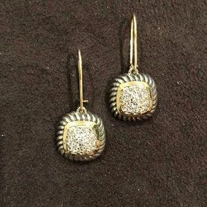 David Yurman Albion Diamond Earrings
